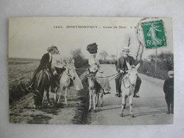MONTMORENCY - Lune De Miel (animée Avec ânes Ou Mules) - Montmorency
