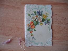 Mignonette Carte Gaufree Bebe Aile  Carte Fantaisie - Fantasie