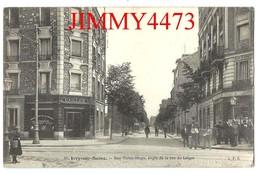 CPA - IVRY-sur-SEINE En 1916 - Rue Victor Hugo, Angle De La Rue Liégal ( Bien Animée ) 94 Val De Marne - L. P. G. N° 85 - Ivry Sur Seine