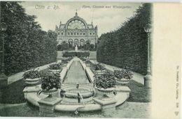 Cöln A. Rh. - Flora Cascade Und Wintergarten - Cascade Florale Et Jardin D'hiver - Cologne Allemagne. - Koeln