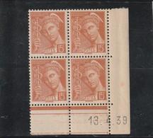 FRANCE  Coins Datés Type Mercure  N° 409** - 1930-1939