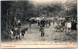 28 DREUX - Chasse à Courre Dans La Forêt - Dreux