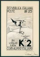 Spedizione K2 40esimo Anniversario Della Prima Salita 1954 FG SP34 - Unclassified