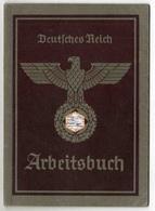 Arbeitsbuch Allemand 1937 Annulé En 1956 (rarissime De Voir Pareille Date Sur Ce Type De Document) - Documents