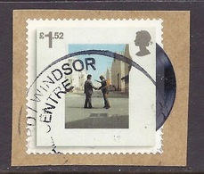 Great Britain - 2016 Music, Pink Floyd, Famous Disc Cover - (1v. On Paper) Used - 1952-.... (Elizabeth II)