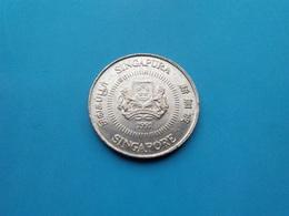 SINGAPOUR   10 Cents  1991 --Sup--   SINGAPORE - Singapur