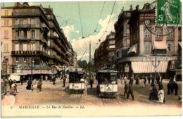 47- Marseille - La Rue De Noailles - Dentiste, Bazar, Tramway - Canebière, Centro Città