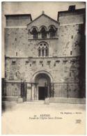 19- Nevers - Facade De L'Eglise Saint Etienne - ND Phot. - Th. Ropiteau - Nevers