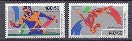 Allemagne 1989  Mi.:nr: 1408-1409 Sporthilfe  Neuf Sans Charniere / Mnh / Postfris - Nuevos