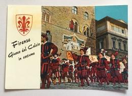 FIRENZE - GIUOCO DEL CALCIO IN COSTUME VIAGGIATA FG - Firenze (Florence)