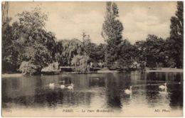 3567- Paris - Le Parc Montsouris - Cygnes - ND. Phot - Parchi, Giardini