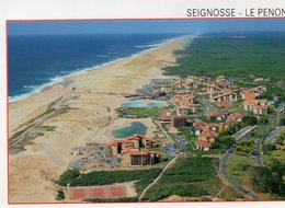 Seignosse - Le Penon - L ' Océan , Les Tennis Et Les Piscines D'eau De Mer - France