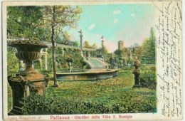 Pallanza Italia, Giardino Della Villa S. Remigio - Pallanza Italie, Lac Majeur, Jardin De La Villa S. Remigio - Verbania