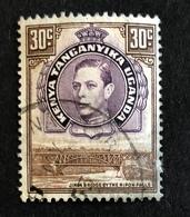 Re Giorgio VI E Ponte Jinja - King George VI And Jinja Bridge - Kenya, Uganda & Tanganyika