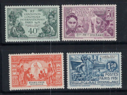 Océanie Anciennes Colonies Et Protectorats 1931 Yv. 80-83 Neuf ** 100% Exposition Coloniale De Paris - Oceania (1892-1958)