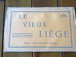 Liège Expo 1905 Carnet De 10 Vues - Liege