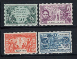 Mauritanie 1931 Yv. 62-65 Neuf ** 100% Exposition Coloniale De Paris - Unused Stamps