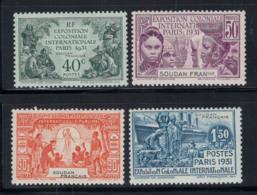 Soudan 1931 Yv. 89-92 Neuf ** 100% Exposition Coloniale De Paris - Sudan (1894-1902)