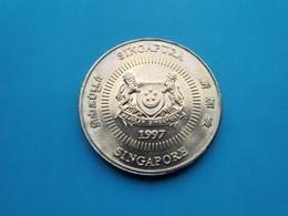 SINGAPOUR  - 50 Cents  1997  --Spl--   SINGAPORE - Singapur