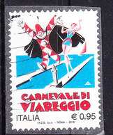 2016 CARNEVALE VIAREGGIO USATO - 6. 1946-.. Repubblica