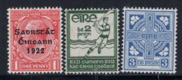 Irlande 1922-40 Mi. 25, 61,76 Neuf ** 60% Symboles, Travail - 1922-37 État Libre D'Irlande