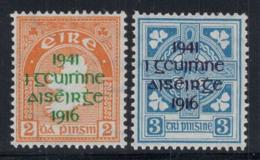 Irlande 1939 Mi. 83-84 Neuf ** 40% Surimprimé - 1937-1949 Éire