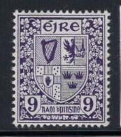 Irlande 1940 Mi. 80 AZ Neuf ** 100% 9 Pg, Les Armoiries - 1937-1949 Éire