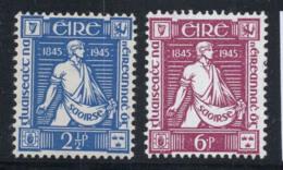 Irlande 1945 Mi. 96-97 Neuf ** 100% Thomas Davis, S. - 1937-1949 Éire