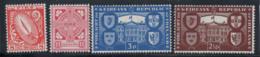 Irlande 1949 Mi. 106-109 Neuf ** 100% Symbole, Armoiries - 1937-1949 Éire