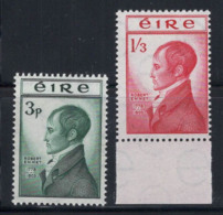 Irlande 1953 Mi. 118-119 Neuf ** 100% Robert Emmet, (Robert Emmet) - 1949-... République D'Irlande