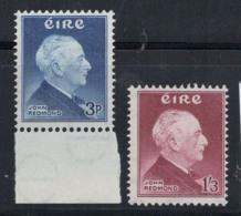 Irlande 1957 Mi. 128-129 Neuf ** 100% Redmond - 1949-... République D'Irlande
