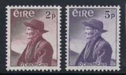 Irlande 1957 Mi. 130-131 Neuf ** 100% Criomtain, Personnalité - 1949-... République D'Irlande