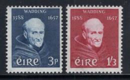Irlande 1957 Mi. 134-135 Neuf ** 100% Wadding, Personnalité - 1949-... République D'Irlande