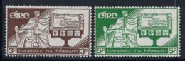 Irlande 1958 Mi. 140-141 Neuf ** 100% Constitution - 1949-... République D'Irlande