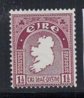 Irlande 1940 Mi. 73 A Neuf ** 100% 1/2 Pg, Armoiries - 1937-1949 Éire