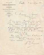 Lettre Des Tramways De La Corrèze, 31/5/1912 - 1900 – 1949