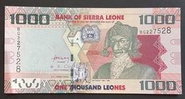 EM0505 - Sierra Leone 1000 Shillings Banknote 2010 #BG227528 UNC - Sierra Leone