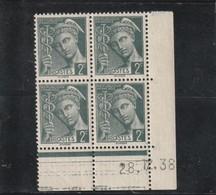 FRANCE Coins Datés Type Mercure  N° 405 ** - 1930-1939