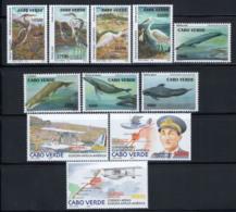 Cap-Vert 2003 Neuf ** 100% Oiseaux, Baleine, Avion - Kap Verde
