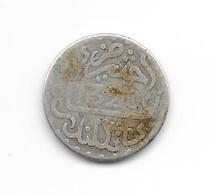 MAROC - 1 DIRHAM (1/10 RIAL )  1320 H  Londres - Abdul Aziz I - Argent - Marruecos