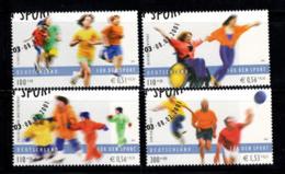 Bund Allemagne 2001 Mi. 2165-2168 Oblitéré 100% Sports - BRD