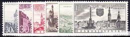 ** Tchécoslovaquie 1957 Mi 1002-7 (Yv 889-94), (MNH) - Unused Stamps