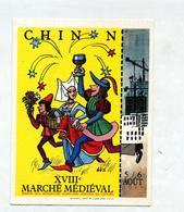 Carte Chinon Marche Medieval - Chinon