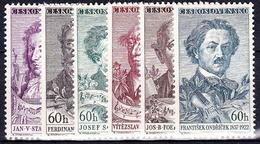 ** Tchécoslovaquie 1957 Mi 1018-23 (Yv 905-10), (MNH) - Unused Stamps
