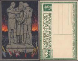 Schwitzerland - Postal Stationery Postcard, 'Carte De La Fête Nationale- 1 August 1915'. MiNr. P51b. - Entiers Postaux