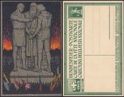 Schwitzerland - Postal Stationery Postcard, 'Carte De La Fête Nationale- 1 August 1915'. MiNr. P51b. - Ganzsachen