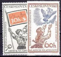** Tchécoslovaquie 1957 Mi 1028-9 (Yv 915-6), (MNH) - Unused Stamps