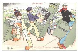 NOS MARINS : ETALE DESSUS - Militaria