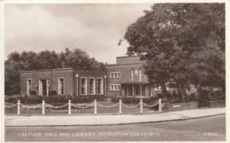 England Postcard Lancashire Thornton Cleveleys Library - Altri