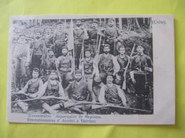 Révolutionnaires D'Acrotiri à Thérisso . Crète   TBE - Greece